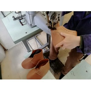 laboratorio cucitura tomaia